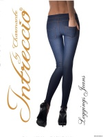 Charmante LEGGINS JEANS леггинсы жен